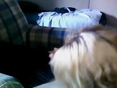 Young Amateur Teen Gives Blow Job And Takes Load In Her Mouth