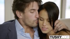 TUSHY Girlfriend Megan Rain Gets Ass Fucked